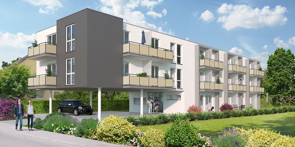 24 Studenten-Appartements in Reutlingen, Friedrich-Naumann-Straße